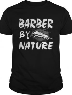 BARBER BY NATURE shirt