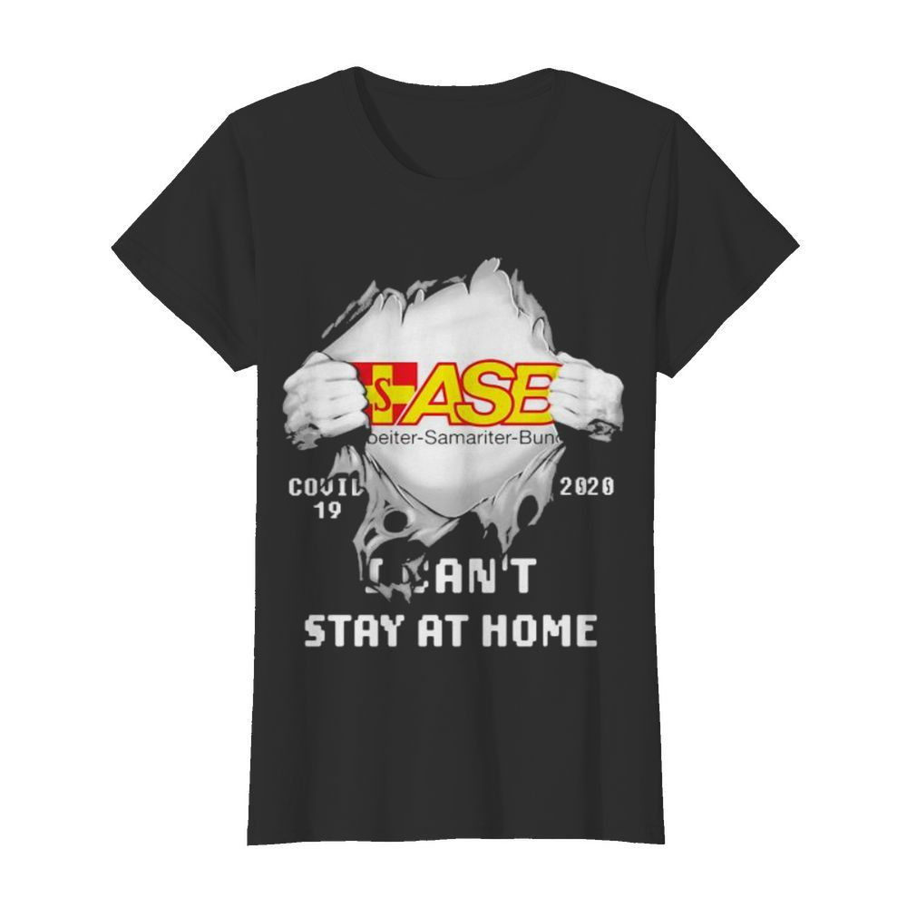Blood inside asb samariter bunch i can't stay at home covid-19 2020  Classic Women's T-shirt