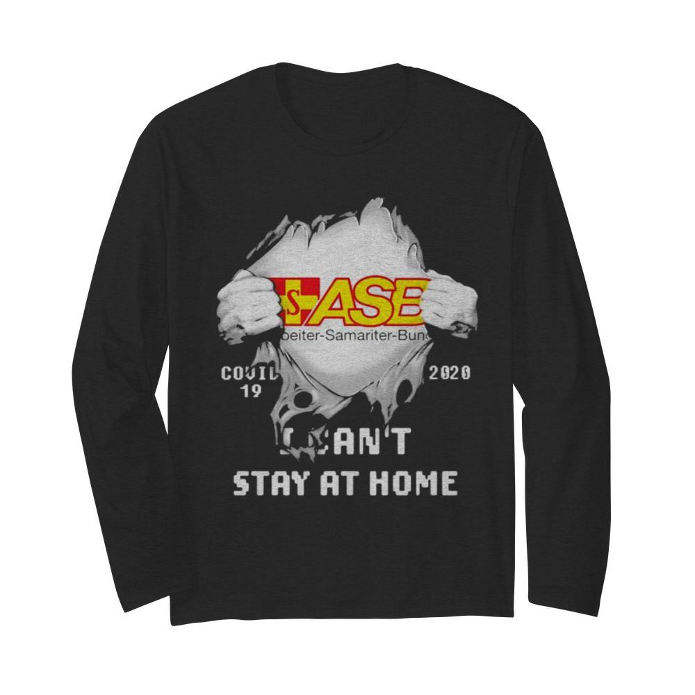 Blood inside asb samariter bunch i can't stay at home covid-19 2020  Long Sleeved T-shirt