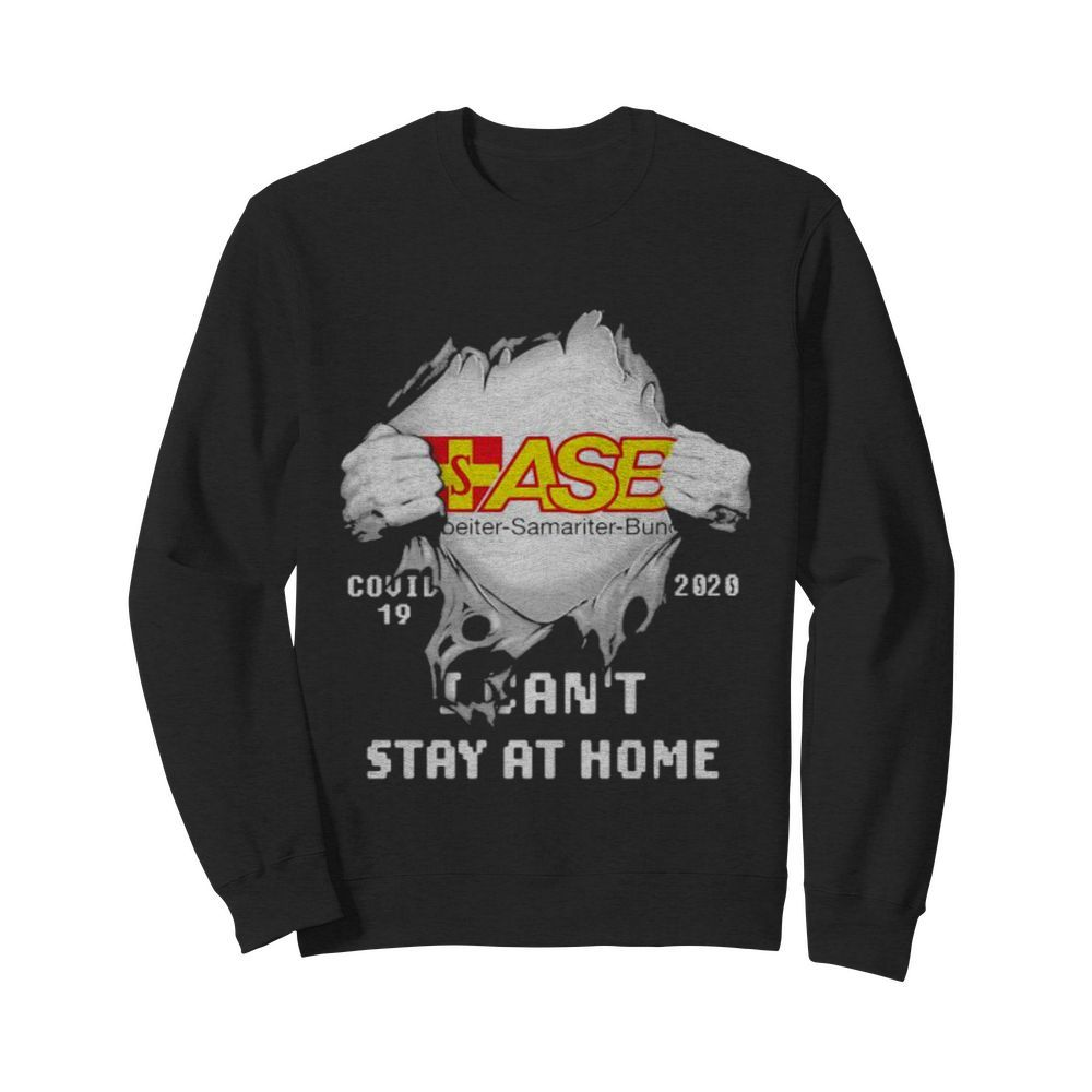 Blood inside asb samariter bunch i can't stay at home covid-19 2020  Unisex Sweatshirt