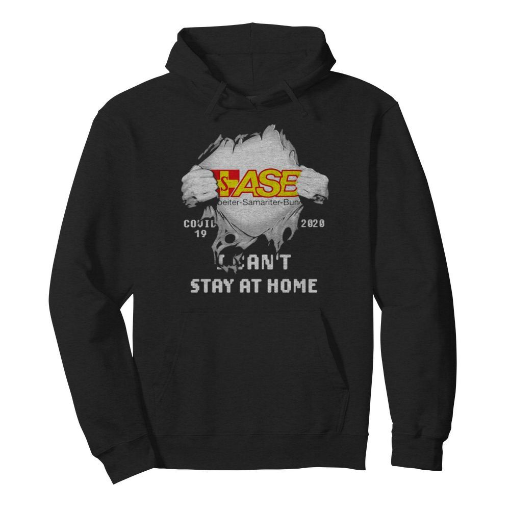 Blood inside asb samariter bunch i can't stay at home covid-19 2020  Unisex Hoodie