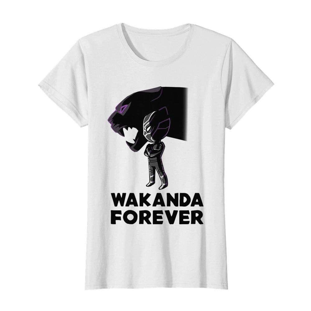 Chadwick Boseman Of Marvel Thank You For The Memories  Classic Women's T-shirt