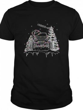 Christmas Jeep Light shirt
