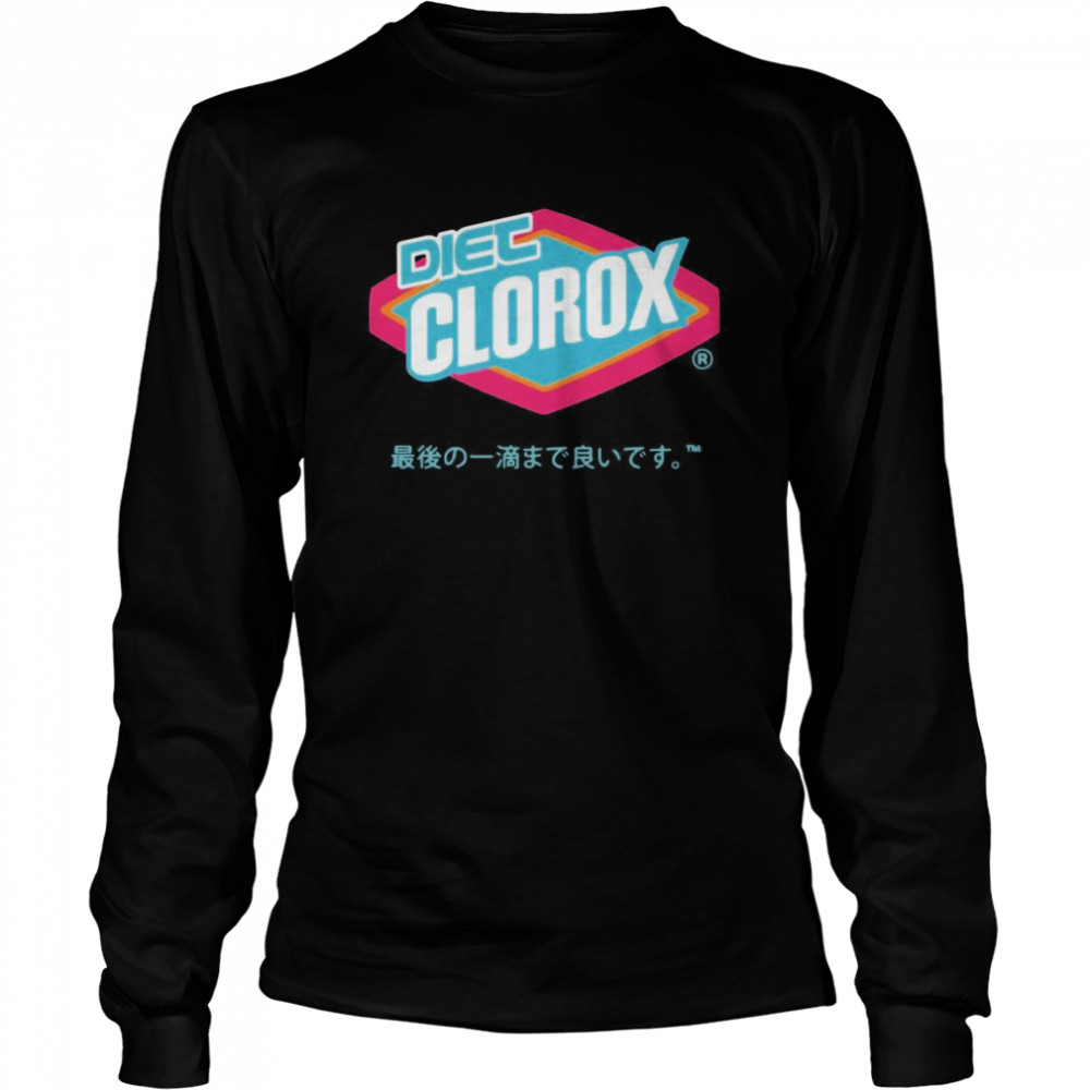Diet Clorox All Over Print  Long Sleeved T-shirt