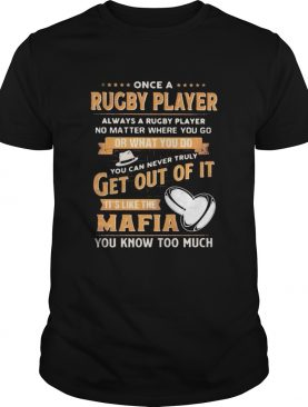 Once a rugby player always a rugby player no matter where you go or what you do you can never truly