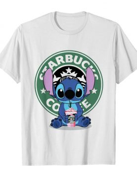 Pretty Stitch Starbucks Coffee shirt