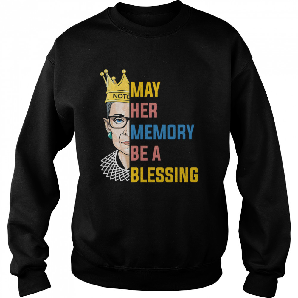 RBG May Her Memory Be A Blessing  Unisex Sweatshirt