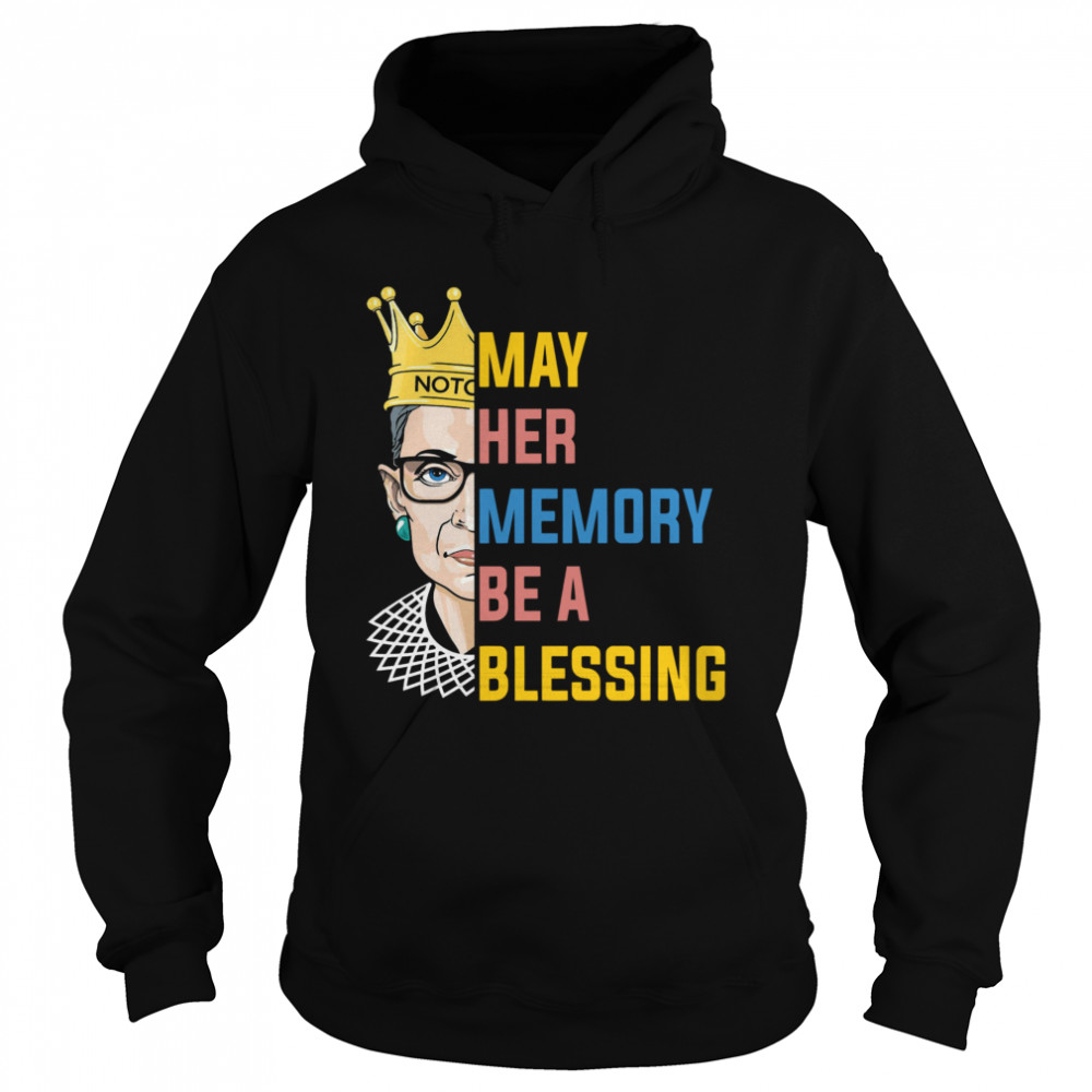 RBG May Her Memory Be A Blessing  Unisex Hoodie