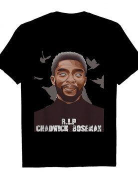 Rip chadwick Boseman black panther actor art shirt