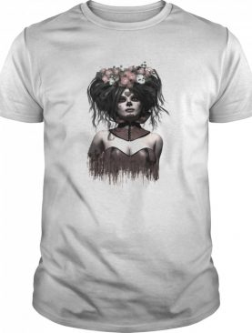 Skeleton Lady Sugar Doll Day Of The Dead shirt