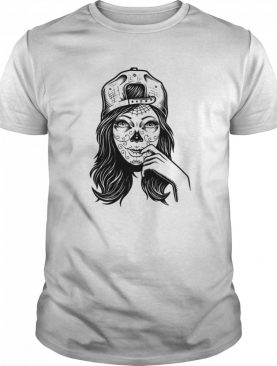 Skull Sugar Girl Day Of The Dead shirt
