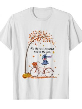 Stitch It's The Most Wonderful Time Of The Year Halloween shirt