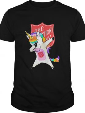 The Salvation Army Unicorn dabbing shirt