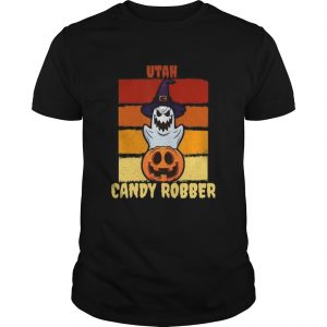 Utah Candy Robber Halloween Trick or Treat Party shirt
