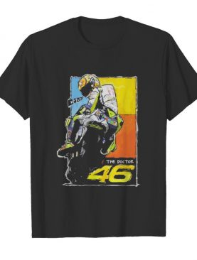 Vr46 valentino rossi the doctor signature vintage shirt