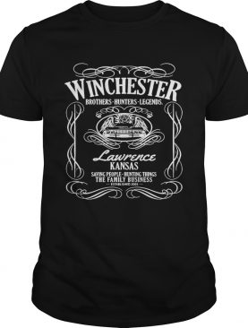 Winchester Brothers Hunters Legends Lawrence Kansas Saving People Hunting Things The Family Busines
