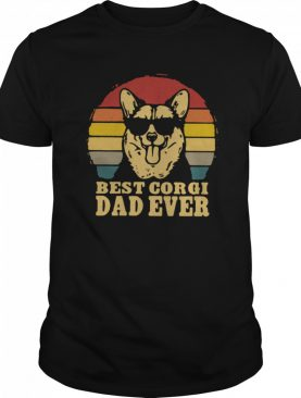 Best Corgi Dad Ever Vintage shirt