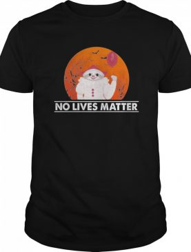 Great Sloth Pennywise No Lives Matter Halloween shirt
