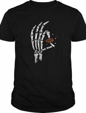 Halloween Hands Bone Hold Coffee Beans shirt