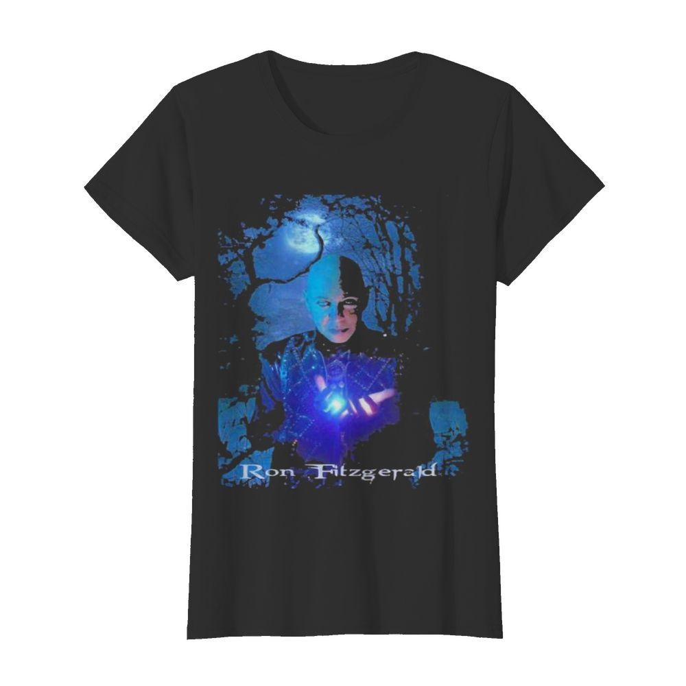 Ron fitzgerald happy halloween  Classic Women's T-shirt
