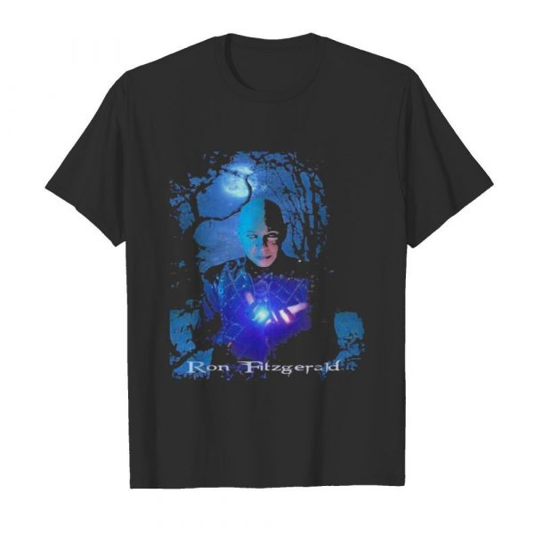 Ron fitzgerald happy halloween shirt