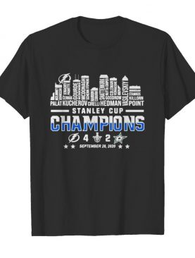 Tampa bay lightning stanley cup champions 2020 shirt