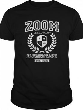 Zoom Elementary Distance Learning shirt