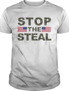 American Flag Stop The Steal shirt