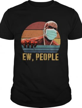 Colossal Titan Face Mask Ew People vintage shirt