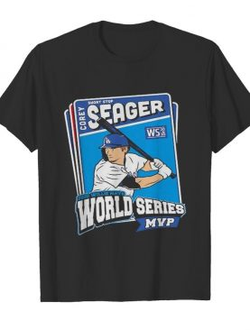 Corey Seager Los Angeles Dodgers Champs 2020 shirt