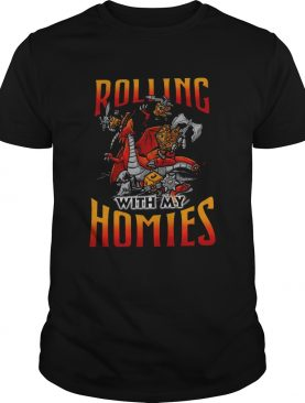 Dragon Rolling With My Homies shirt