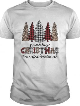 Pines Merry Christmas Paraprofexssional shirt