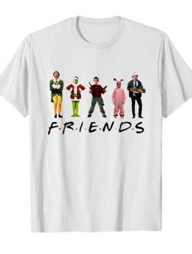 Ralphie Brooke Nieter Elf Chevy Chase Grinch Face Friends Christmas shirt