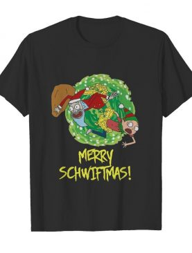 Rick And Morty Merry Christmas Merry Swiftmas shirt