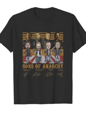 Sons Of Anarchy Tommy Flanagan Charlie Hunnam Theo Rossi Kim Coaten Vintage shirt