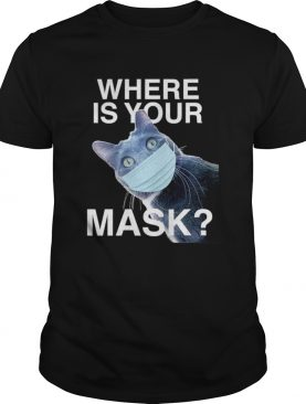 Where is your mask black cat shirt