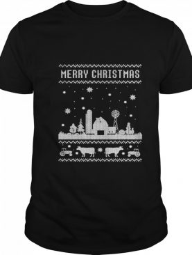 Farm Farmer Family Farm Ugly Christmas shirt