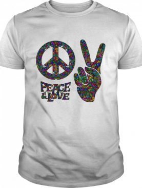 Hippie Peace And Love shirt