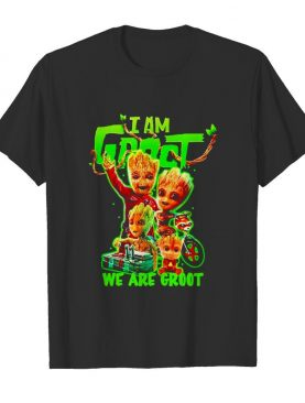 I am Baby Groot we are Groot shirt
