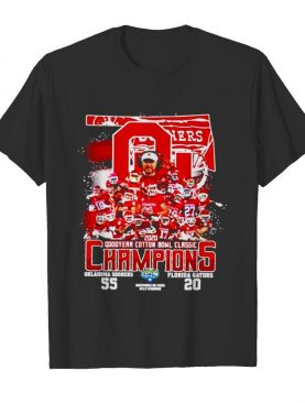 2020 Oklahoma Sooners goodyear cotton bowl classic Champions shirt
