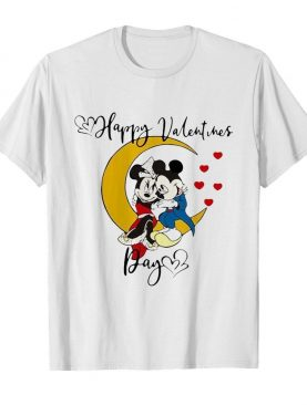 Mickey Mouse And Minnie Mouse Happy Valentines Day Valentine's Day shirt