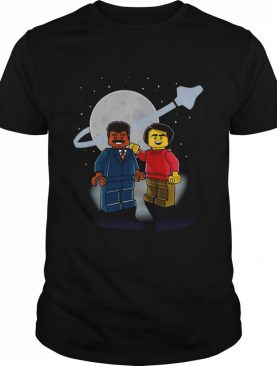 Neil Degrasse Tyson Carl Sagan Lego shirt
